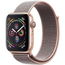 Apple Watch 4 GPS 44mm Gold Aluminum Case With Pink Sand Sport Loop Band